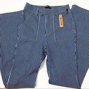 Forever 21 Railroad Stripe Jeans XS